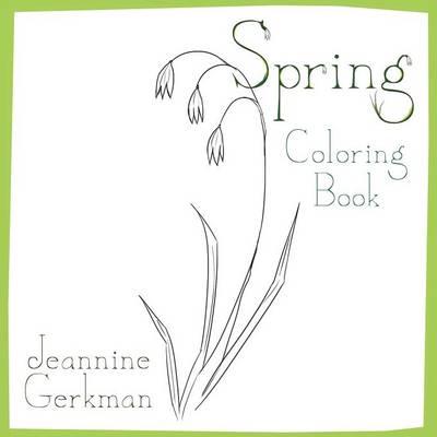 Spring: Coloring Book (Paperback)