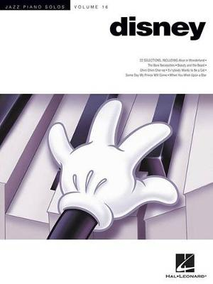 Disney Jazz Piano Solos Volume 16 (Paperback)