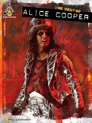 The Best of Alice Cooper - Guitar Recorded Versions (Paperback)