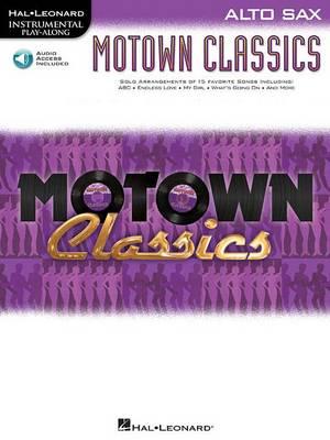 Instrumental Play-Along: Motown Classics - Alto Saxophone (Paperback)