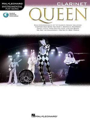 Clarinet Play-Along: Queen (Paperback)