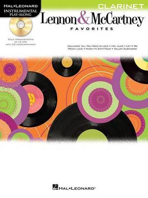 Clarinet Play-Along: Lennon & McCartney Favourites (Paperback)