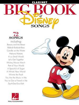 The Big Book of Disney Songs (Clarinet) (Book)