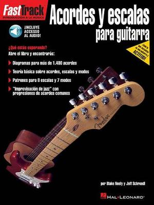 FastTrack Guitar Chords & Scales (Spanish) (Paperback)