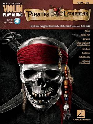 Violin Play-Along Volume 23: Pirates Of The Caribbean (Book/Online Audio) (Paperback)