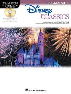 Clarinet Play-Along: Disney Classics (Paperback)