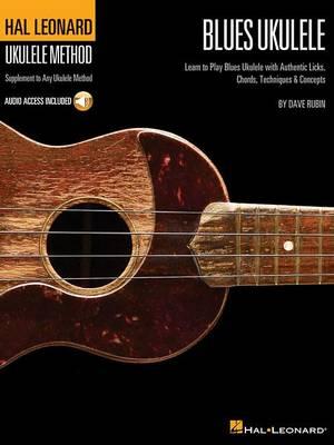 Hal Leonard Ukulele Method: Blues Ukulele (Book/Online Audio) (Paperback)
