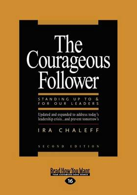 The Courageous Follower (1 Volume Set) (Paperback)