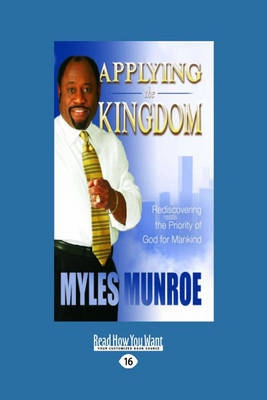 Applying the Kingdom Tradepaper (Paperback)