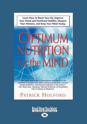 New Optimum Nutrition for the Mind: Parts 6-8 v. 2 (Paperback)