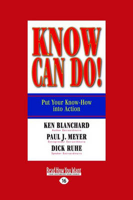 Know Can Do! (Paperback)