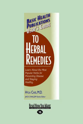 User's Guide to Herbal Remedies (Paperback)