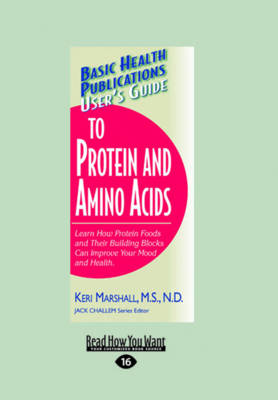 User's Guide to Protein and Amino Acids (Paperback)