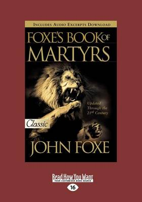 Foxes Book of Martyrs (2 Volumes Set) (Paperback)