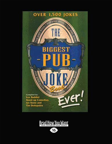 The Biggest Pub Joke Book Ever! 1 (Paperback)