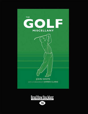 The Golf Miscellany (Paperback)