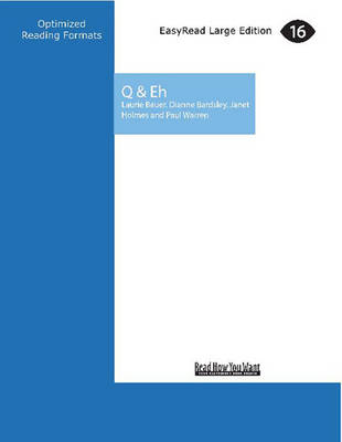 Q & Eh: Questions and Answers on Language with a Kiwi Twist (Paperback)