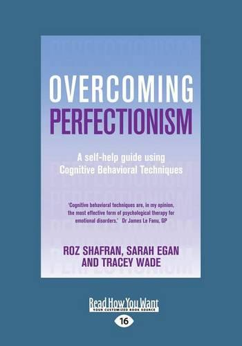 Overcoming Perfectionism (Paperback)