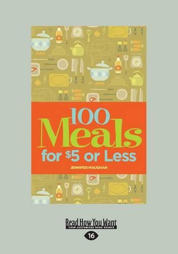 100 Meals for $5 or Less (Paperback)