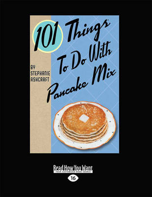 Cover 101 Things to Do with Pancake Mix