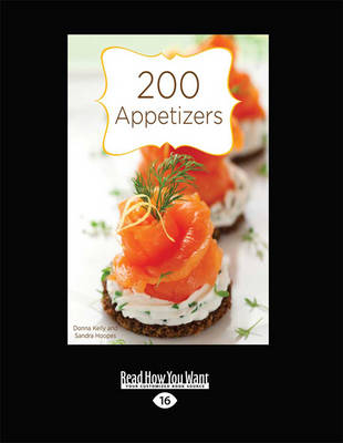 200 Appetizers (Paperback)