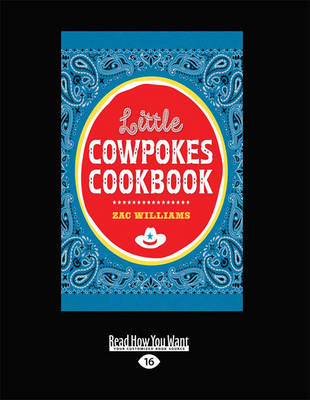 Little Cowpokes Cookbook (Paperback)