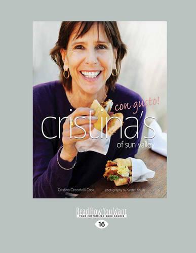Cristina'S of Sun Valley Con Gusto! (Paperback)
