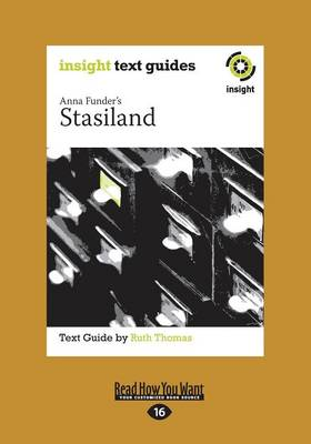 Anna Funder's Stasiland: Insight Text Guide (Paperback)