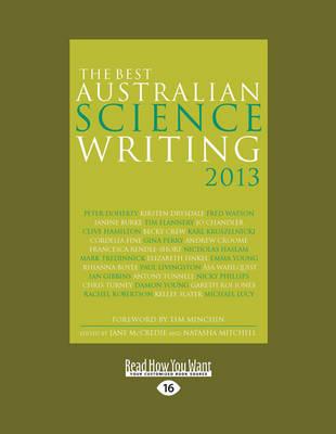 The Best Australian Science Writing 2013 (Paperback)