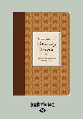 Richard Lederer's Literary Trivia (Paperback)
