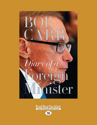 Diary of a Foreign Minister (Paperback)