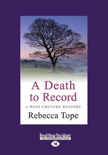 A Death to Record: West Country Mysteries 5 (Paperback)