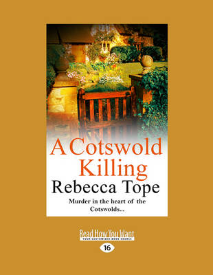 A Cotswold Killing: Cotswold Mysteries 1 (Paperback)
