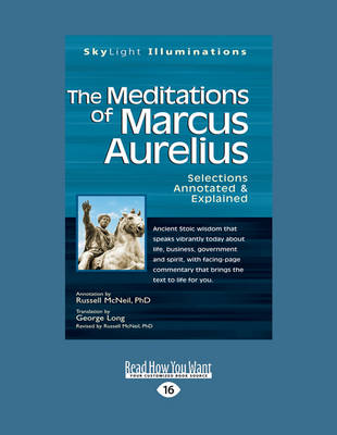 The Meditations of Marcus Auerlius: Selections Annotated & Explained (Paperback)