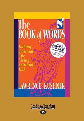 The Book of Words: Talking Spiritual Life, Living Spiritual Talk (Paperback)