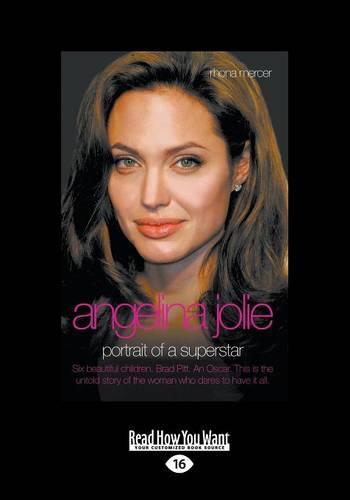 Angelina Jolie: Portrait of a Superstar (Paperback)