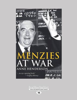Menzies at War (Paperback)