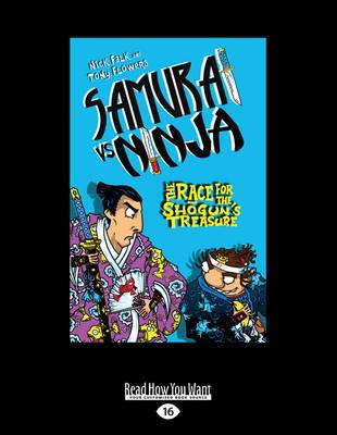The Race for the Shogun's Treasure: Samurai vs Ninja 2 (Paperback)