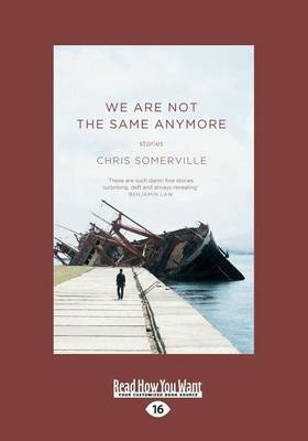 We are Not the Same Anymore: Stories (Paperback)
