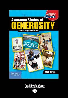 Awesome Stories of Generosity in Sports (Paperback)