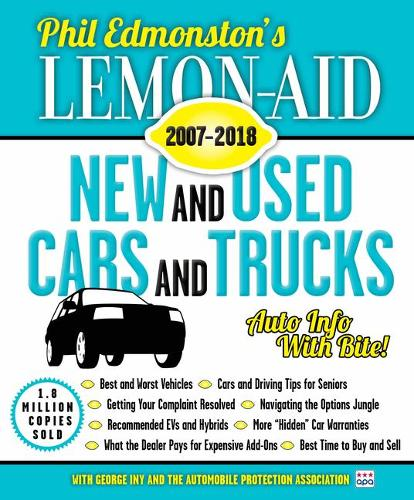 Lemon-Aid New and Used Cars and Trucks 2007-2018 (Paperback)