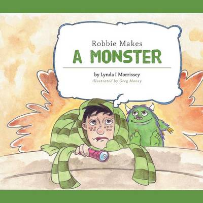Robbie Makes a Monster (Paperback)