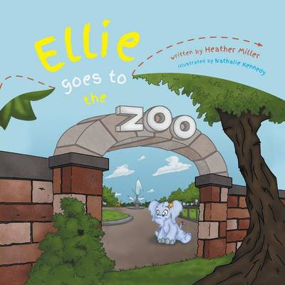 Ellie Goes to the Zoo (Paperback)