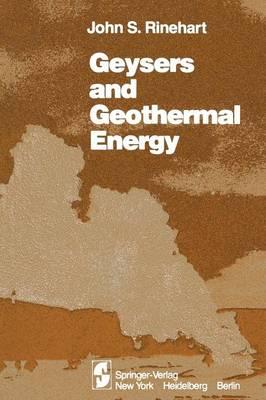 Geysers and Geothermal Energy (Paperback)
