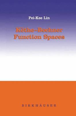 Koethe-Bochner Function Spaces (Paperback)