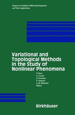 Variational and Topological Methods in the Study of Nonlinear Phenomena - Progress in Nonlinear Differential Equations and Their Applications 49 (Paperback)