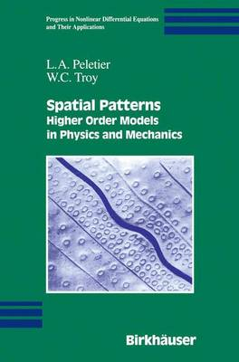 Spatial Patterns: Higher Order Models in Physics and Mechanics - Progress in Nonlinear Differential Equations and Their Applications 45 (Paperback)