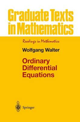 Ordinary Differential Equations - Graduate Texts in Mathematics 182 (Paperback)