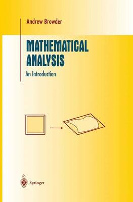 Mathematical Analysis: An Introduction - Undergraduate Texts in Mathematics (Paperback)