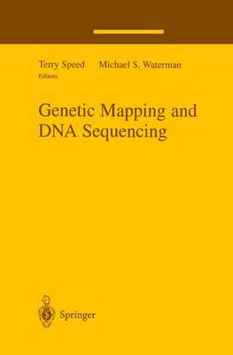 Genetic Mapping and DNA Sequencing - The IMA Volumes in Mathematics and its Applications 81 (Paperback)